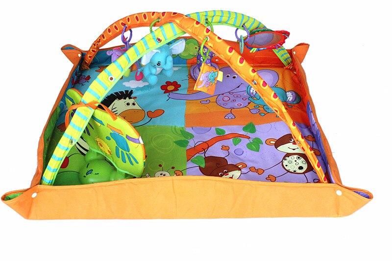 Juguetes de bebé jugar alfombra de gimnasio educativo manta de suelo infantil
