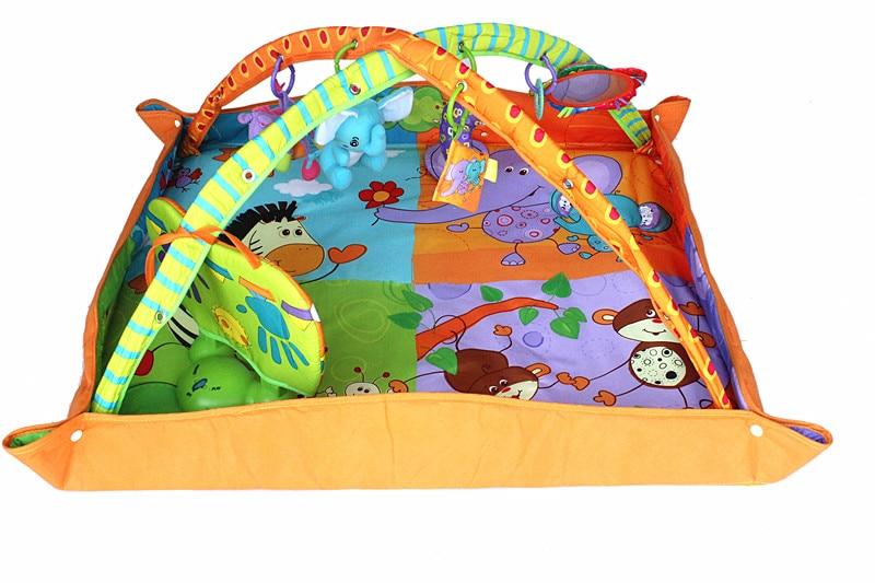 baby font b toys b font play gym mat educational Infant floor blanket