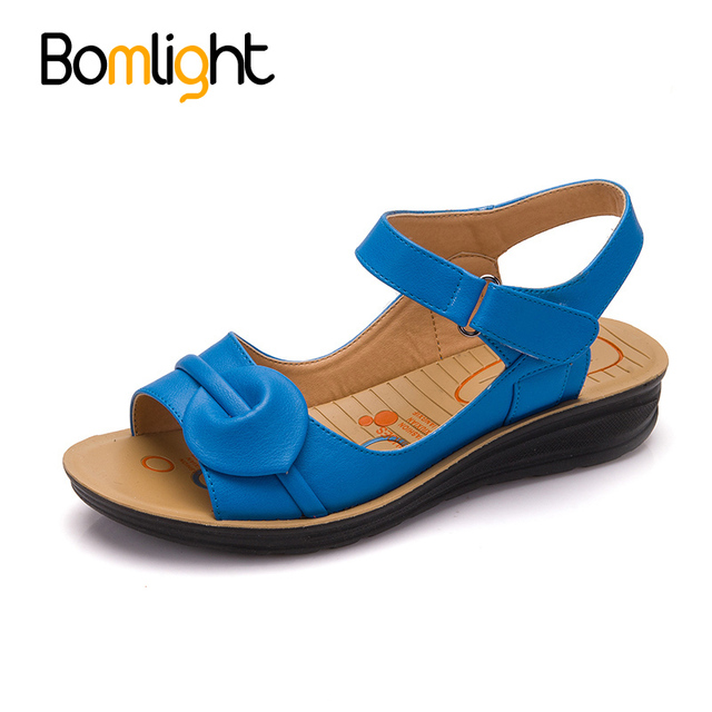 b8d382c3bfd7 Bomlight Summer Shoes Woman