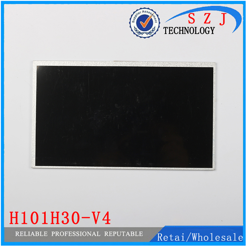 Original 10.1 inch Tablet PC LCD display H101H30-V4 LCD Screen Digitizer Sensor Replacement Free Shipping original 7 inch lcd display kr070lf7t for tablet pc display lcd screen 1024 600 40pin free shipping 165 100mm
