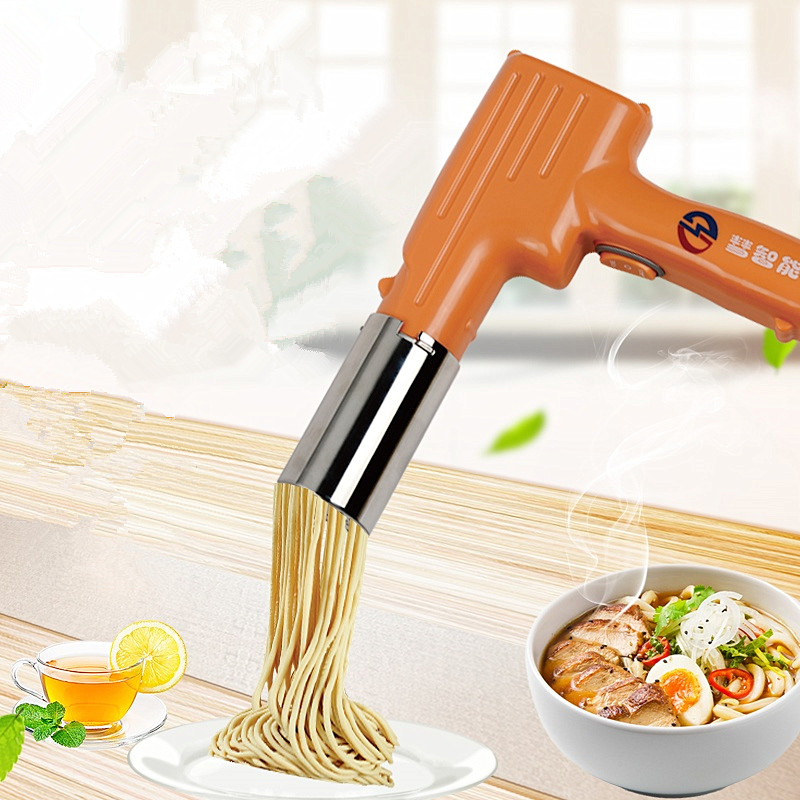 220V Rechargeable Electric Noodle Maker Machine Handheld Portable Electric Noodle Machine 3 Color Available With 3 Noodle Tool220V Rechargeable Electric Noodle Maker Machine Handheld Portable Electric Noodle Machine 3 Color Available With 3 Noodle Tool