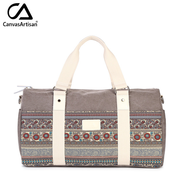 National Designer Luggage Travel Bags For Women Duffle Bag Hand Tote Large Weekend Overnight Print Las Travelling Bolsos