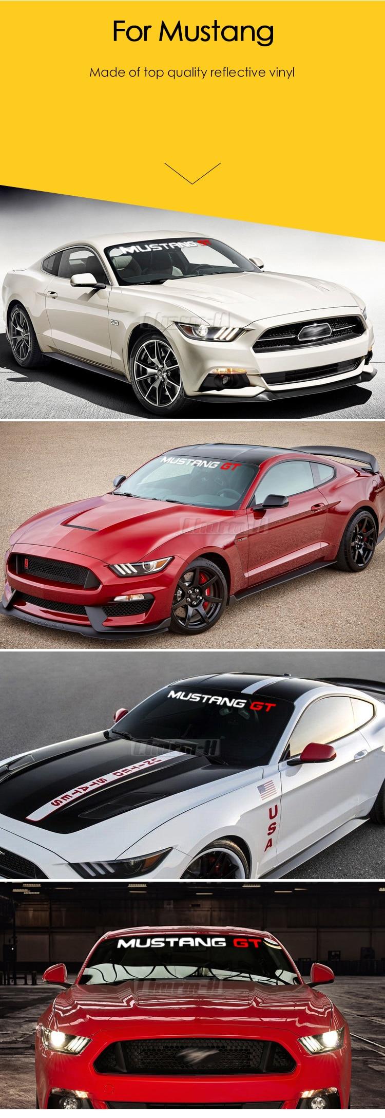 Mustang Decals Sticker 1 Set-23 Piece