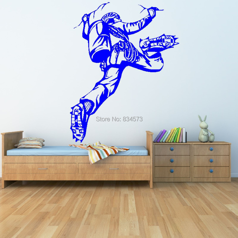 Compare prices on decor climbing boy online shoppingbuy low rock climbing extreme sport boys wall art stickers decal home diy decoration wall mural removable bedroom amipublicfo Choice Image
