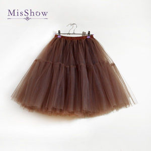 "Image 4 - 26"" Vintage Wedding Petticoat Crinoline 50s Retro Underskirt Swing Rockabilly Fancy Net Tutu Skirt Bridal Accessories 2020"