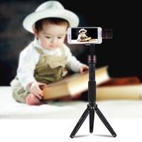 360 Degrees Camera Bracket Foldable Lightweight Mini Tripod Metal Portable Travel Tripod For Camera DSLR Nov