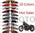 Hot Sales Colors Motorcycle Decals 3d Emblem Tank Traction  For Harley Motorbike Decals Paper Stickers