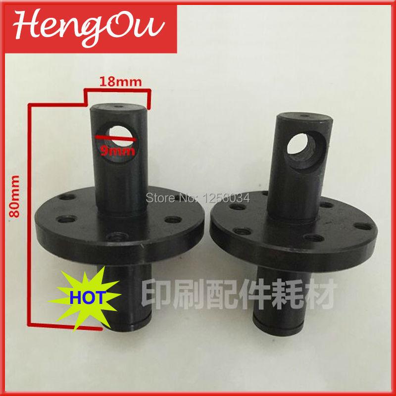 1 piece printer parts roller gear shaft head for heidelberg machine SM102 CD192 SM74 PM74 SM52 PM52 PARTS