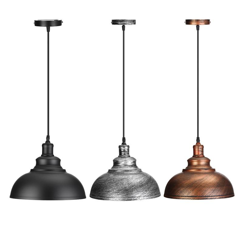 Vintage Pendant Lights Retro Industrial Hanging Chandelier Loft Pendant LightS E27 Dining Restaurant Room Lamp