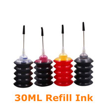цена на BLOOM 30ml Universal Refill Dye Ink Kit Compatible For HP 21 22 ink cartridge for HP Deskjet 3915 3920 D1320 F2100 F2280 F4180