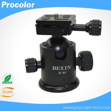 Aluminum Tripod ballhead 44mm super large ball for big camera / Panoramic photos Ball Head With Quick Release Plate For Benro