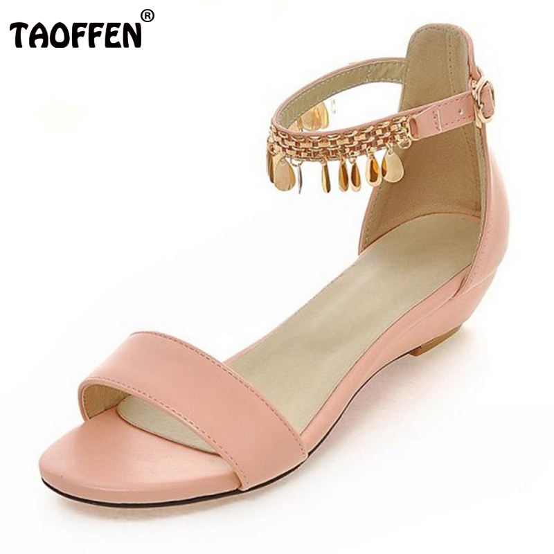 woman summer shoes Bohemia small wedges sandals 32 33 women's plus size shoes 40 - 43 PA00906 phyanic 2017 gladiator sandals gold silver shoes woman summer platform wedges glitters creepers casual women shoes phy3323