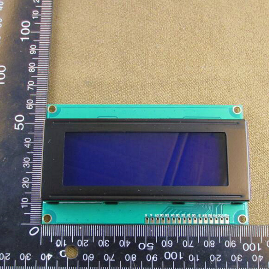 1pcs/lot 5V Character LCD Module Display LCM 2004A 2004 204 20X4 Compatible with HD44780 blue backlight white character#30073