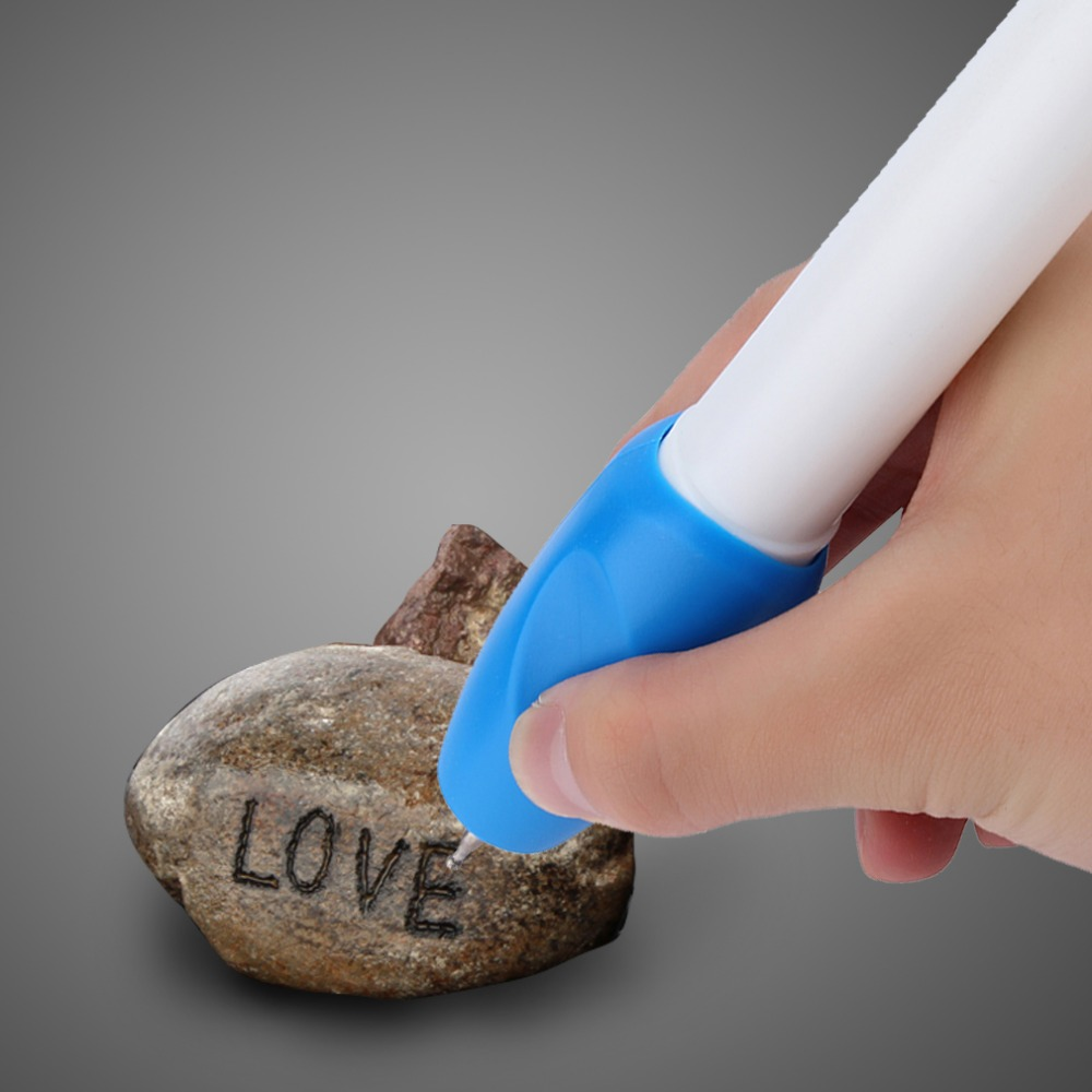 2019 New Hot Electric Jewellery Metal Plastic Glass Wood Engraver Pen Carve Tool Drop Shipping