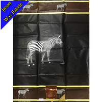 GUARANTEED SUPER JAVA GHANA KENTE ZEBRAS PRINT FABRIC GOOD QUALITY AFRICAN WAX PRINTED 100 COTTON FABRIC