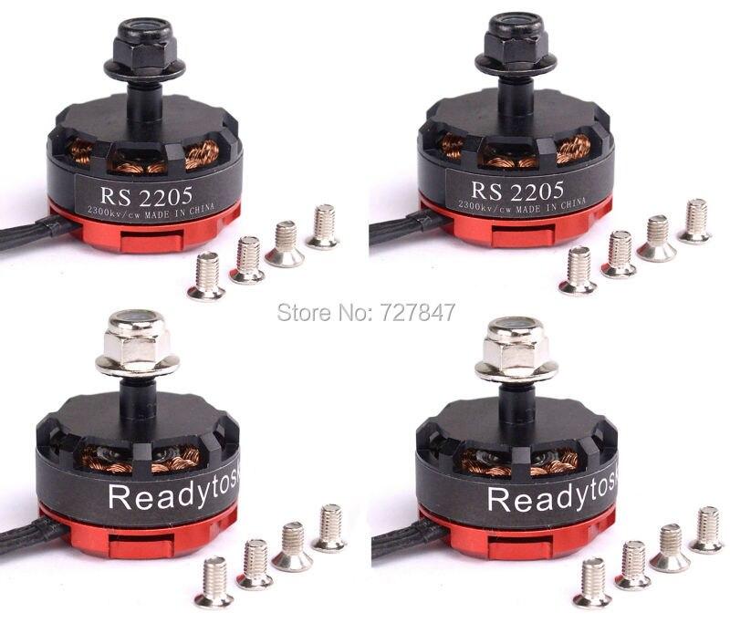 RS2205 2300KV 2205 CW/CCW Brushless Motor for FPV Racing Quad Motor FPV Multicopter lhi fpv 4x mt2206 2300kv cw ccw fpv brushless motor 2 4s 4 pcs racerstar rs20a lite 20a blheli s bb1 2 4s brushless esc