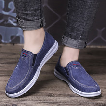 Breathable Summer Flats Trendy Men Beach Loafer Shoes Weaving Hemp Flats Soft Driving Shoes Canvas Hemp Fisherman Light Shoes(China)