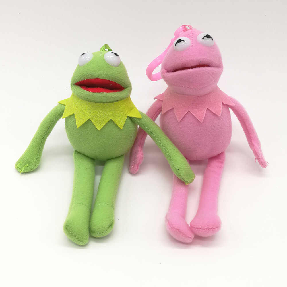 Sesame Street Kermit The Frog 14CM Soft Best Gifts For Kids Plush Clip Doll  Stuffed Toys PCXB