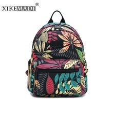 2019 Mini Mochila Printing Backpack Canvas Women Backpack School Bag For Teenage Girls Backpacks Casual Daily Durable Bags