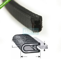 1 16 02 120 In Length Door Guards Protector Trim Molding Sound Proof Car PVC Rubber