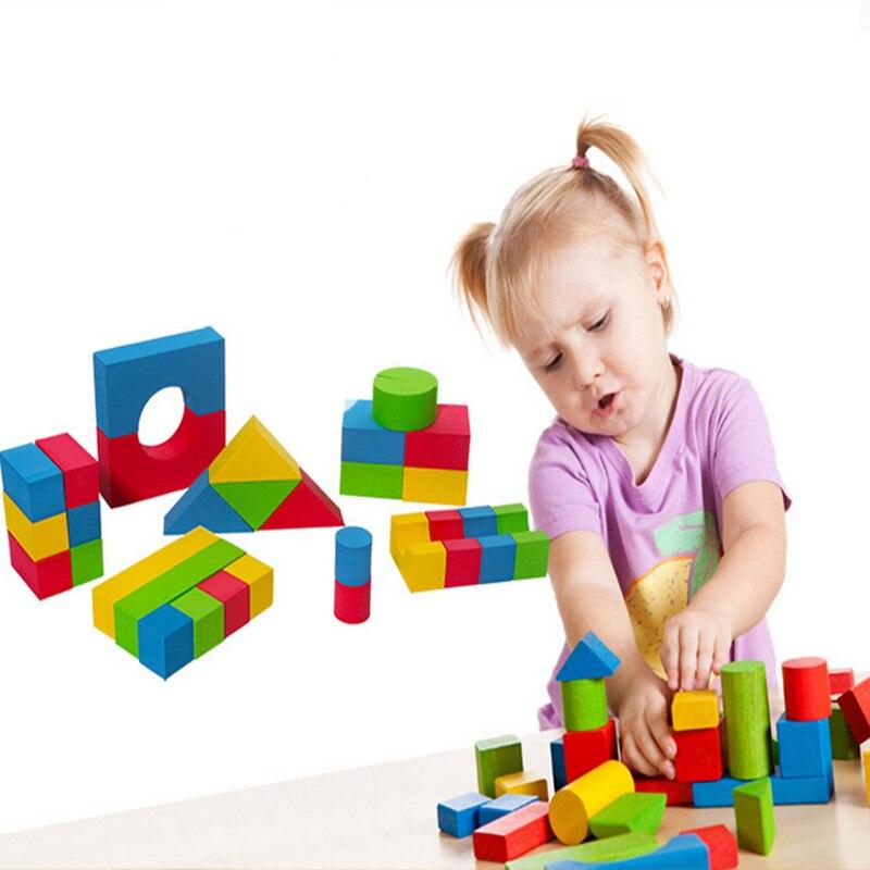 Building Brick Block Foam Construction Soft Intelligence Exercise 30//38PCS