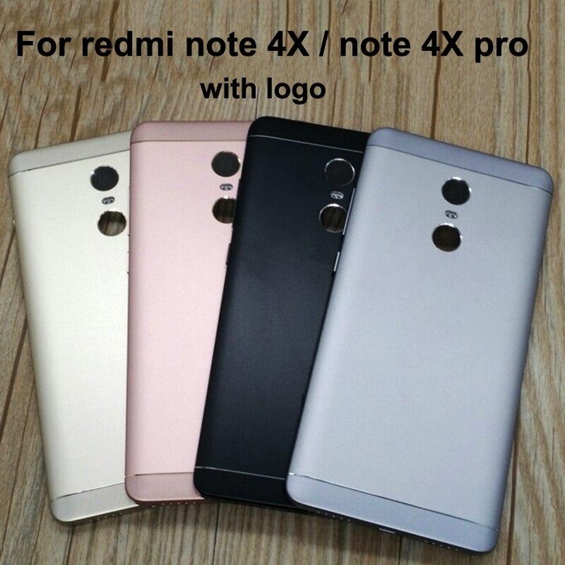 For Xiaomi Redmi Note 4X 32GB Battery Back Cover Case 5 5 For Xiaomi Redmi Note