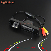 BigBigRoad Car Intelligent Dynamic Trajectory Tracks Rear View Camera For Chery Tiggo 2009 / A3 sedan / Toyota Rav4 RAV 4 RAV 4
