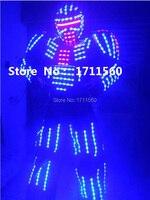 LED Robot garnitury/LED Kostium/Odzież LED/LED Light garnitury/Alexander robota garnitur