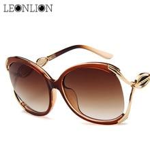 LeonLion 2019 Fashion Big Frame Sunglasses Women Luxury Sun Glasses For Women Travel Classic Vintage Ladies Oculos De Sol Gafas