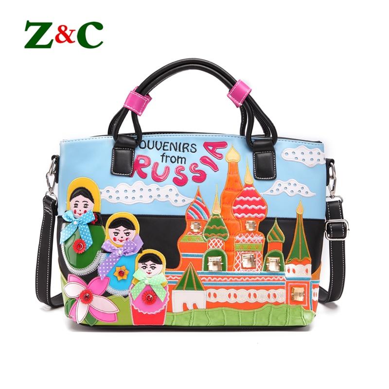 Original Design Women Handbags Stitching Embroidered Tote Bag Hit Color Bow Creative Shoulder Bags Luxury Brand Designer Handbag