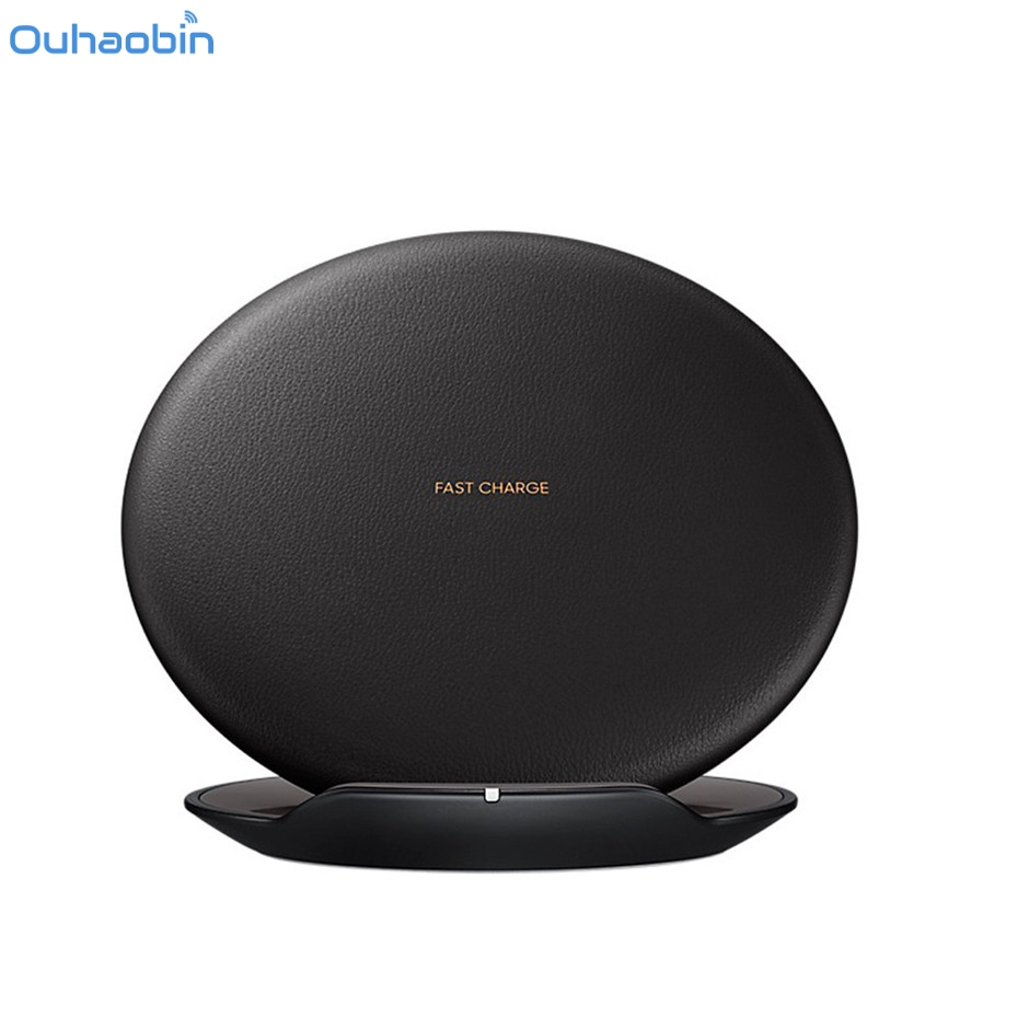 Ouhaobin Qi Fast Wireless Charger Quick Rapid Charging Stand for Samsung Galaxy S8 / S8 Plus and All Smartphone Qi-Enabled Dec5 bluetooth stereo speaker fast charge wireless charger qi standard for qi enabled mobile device
