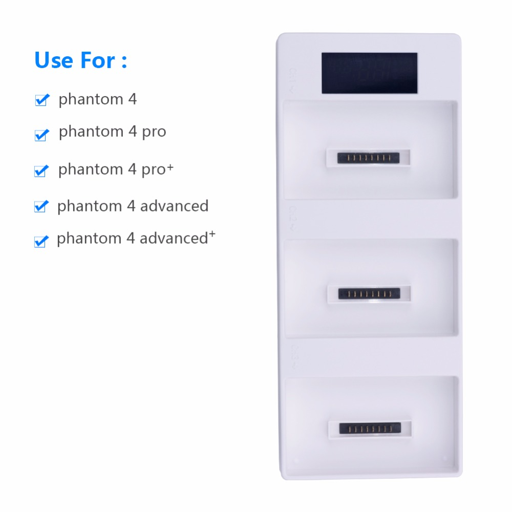 Phantom 4 Charger Battery Charging Hub Pro +digital Charger Phantom Battery 4 into Power Bank for DJI Phantom 4 Accessories цены