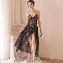 Women Sexy Lingerie Lace Babydoll Porno Hot Erotic Dress Transparente Sleepwear Costume