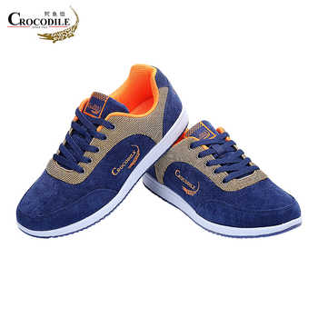 Crocodile Men Athletic Sneakers Men Sports Shoes Jogging Shoes Male Canvas Sneakers Trainers Footwear Men Skateboarding Shoes