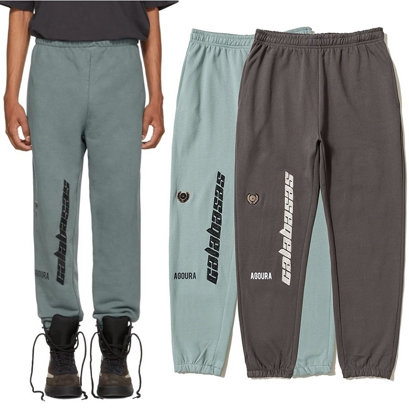 Season 5 Calabasas Pants Sweatpants Men Women Kanye West Joggers Streetwear Hip Hop Pants Drawstring OVERSIZE Calabasas Trousers