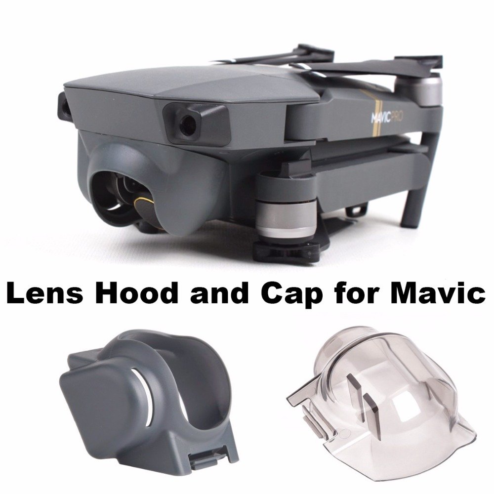 Camera Lens Cover Cap Gimbal Guard Protector Gimbal Holder Mount Camera Lens Hood Sunshade For DJI Mavic Pro Drone Spare Parts