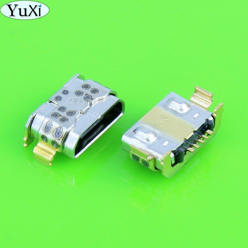 YuXi 10-200pcs/lot Micro USB Charging Connector For Huawei P9 Lite G9 Charge Jack Port Dock Socket Plug