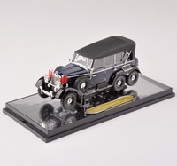 New Sale 1 43 Scale Black 1938 Mercedes G4 Car Vehicles Model Toy Collection 1 43