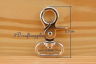 Lobster Clasps Clips Claw purse hooks Swivel snap hook light gold 25mm 6pcs AB18 owner 52567 14 hooked snap swivel 9 шт