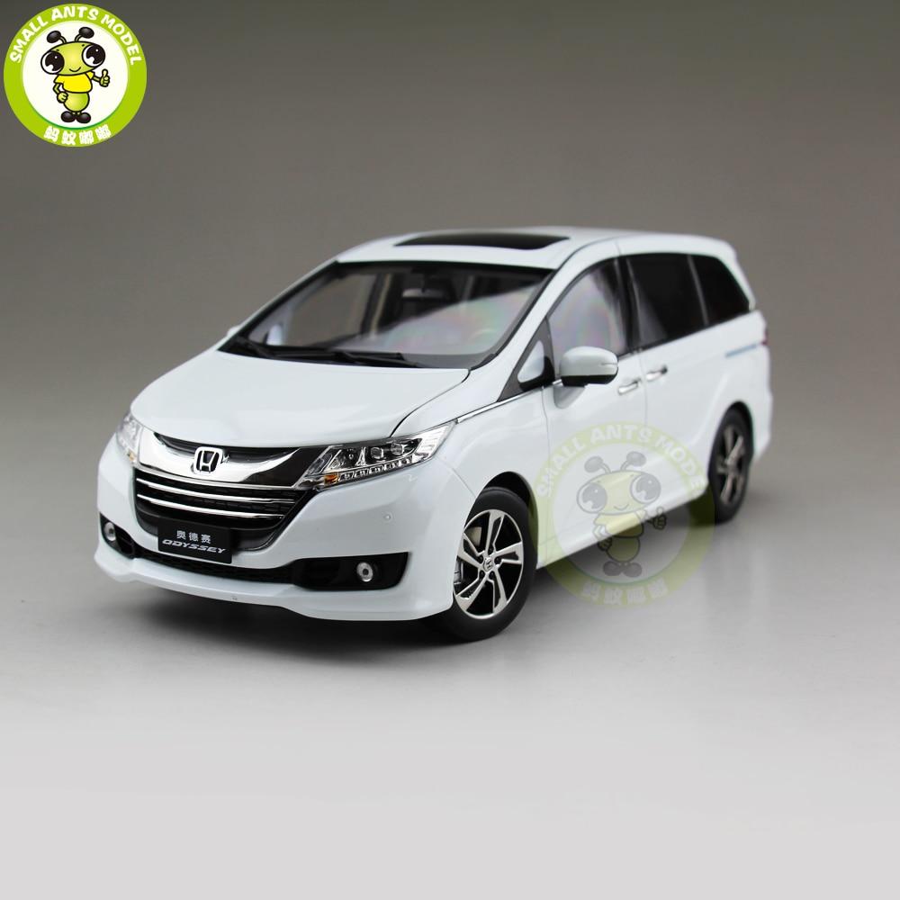 1/18 Odyssey MPV коммерческий автомобиль литой под давлением металлический автомобиль внедорожник MPV модель игрушки мальчик девочка подарок коллекция хобби белый