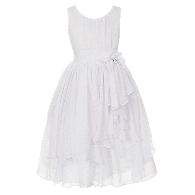 d1c5efd1b9d8 Vestiti dei bambini per le ragazze 3 13 anni vestito di tulle rosa navy  orange giallo teal ragazza di fiore abiti da festa verde per matrimoni in  Vestiti ...