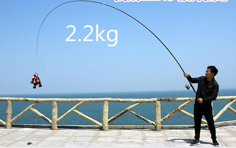 Carbono de Pesca Pólo Mão De Pesca Vara de 3.6 m 4.5 m 5.4 m