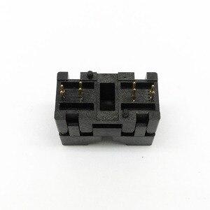 Image 5 - MSOP8 SSOP8 MSOP 8 SSOP 8 IC Test Socket Pitch 0.65mm IC Body Breedte 3mm open top burn in socket programmeren socket