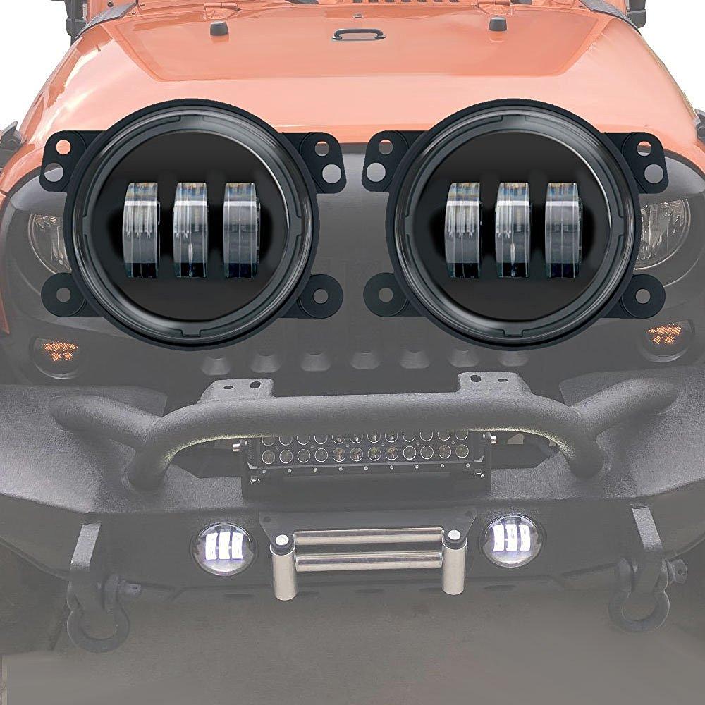 Ζεύγος 4 ιντσών 60W οδήγησε προβολείς - Φώτα αυτοκινήτων - Φωτογραφία 1