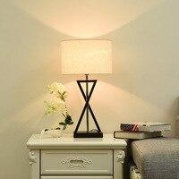 Modern Creative writing desk lamps AC110 240V lustres de sala plafon luminers for living room study room LED E27 table lights