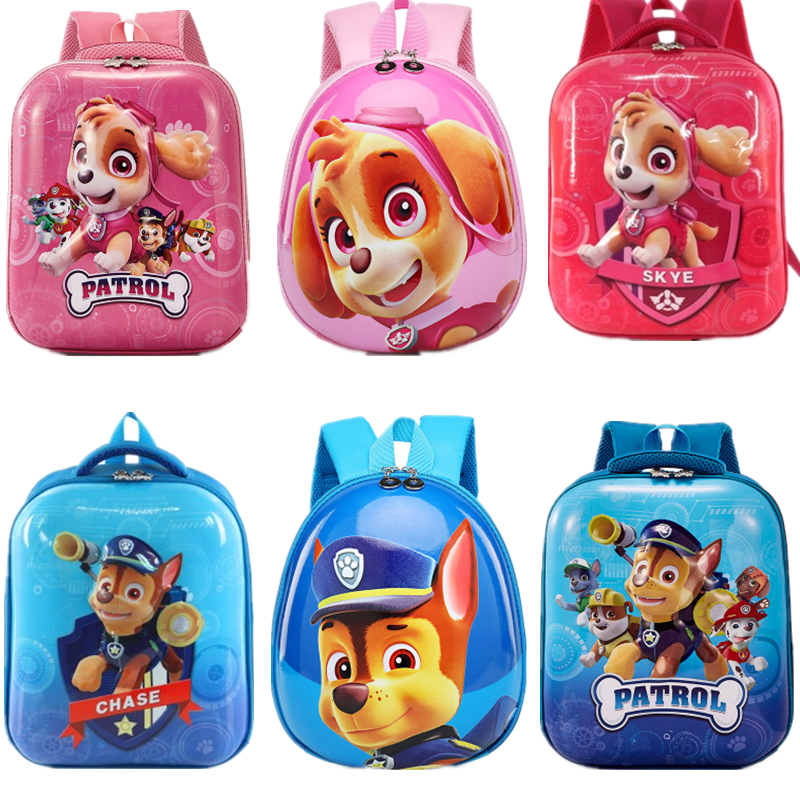 18 Style Paw Patrol Dog Big Capacity Backpack School Bag Anti-lost Rope Travel Harmless Cartoon Children Action Figures Gift