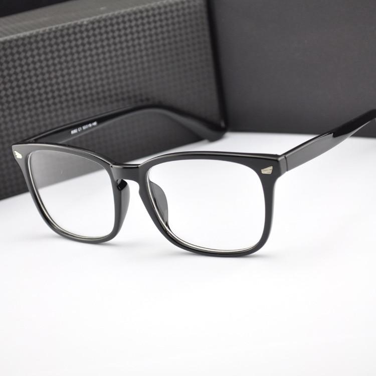 2018 markë të reja Rivets Korea modës Gratë dhe burrat syzet optike pastrojnë syzet e thjerrëzave Oculos de grau feminino metal Rivet n550