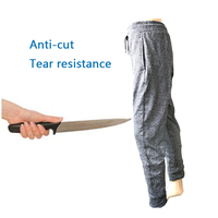 Stab resistant Pants Anti Cut Working Clothing Tear Resistance 5 Level Cut Prevention Safety Pants Glass Factory Slaughter Plant