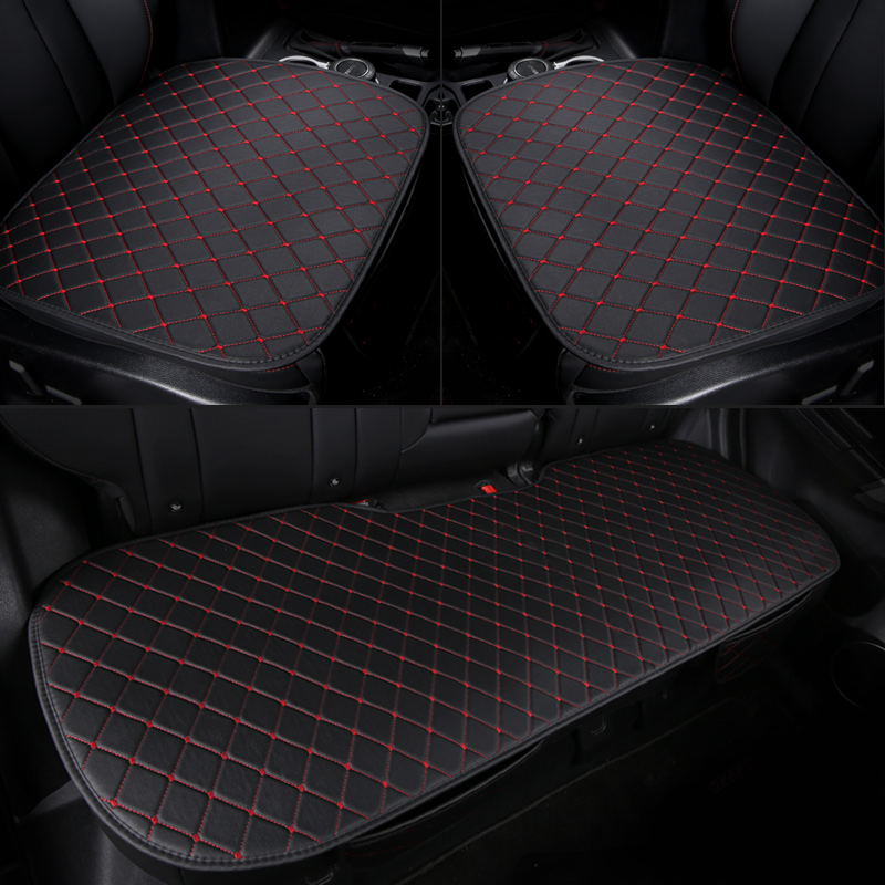 Pu car <font><b>seat</b></font> <font><b>cover</b></font> front rear leather cushion protector mat for <font><b>Mazda</b></font> <font><b>3</b></font> 6 2 <font><b>CX</b></font>-4 <font><b>CX</b></font>-5 <font><b>CX</b></font>-7 Axela ATENZA LAND CRUISER 2 octavia image