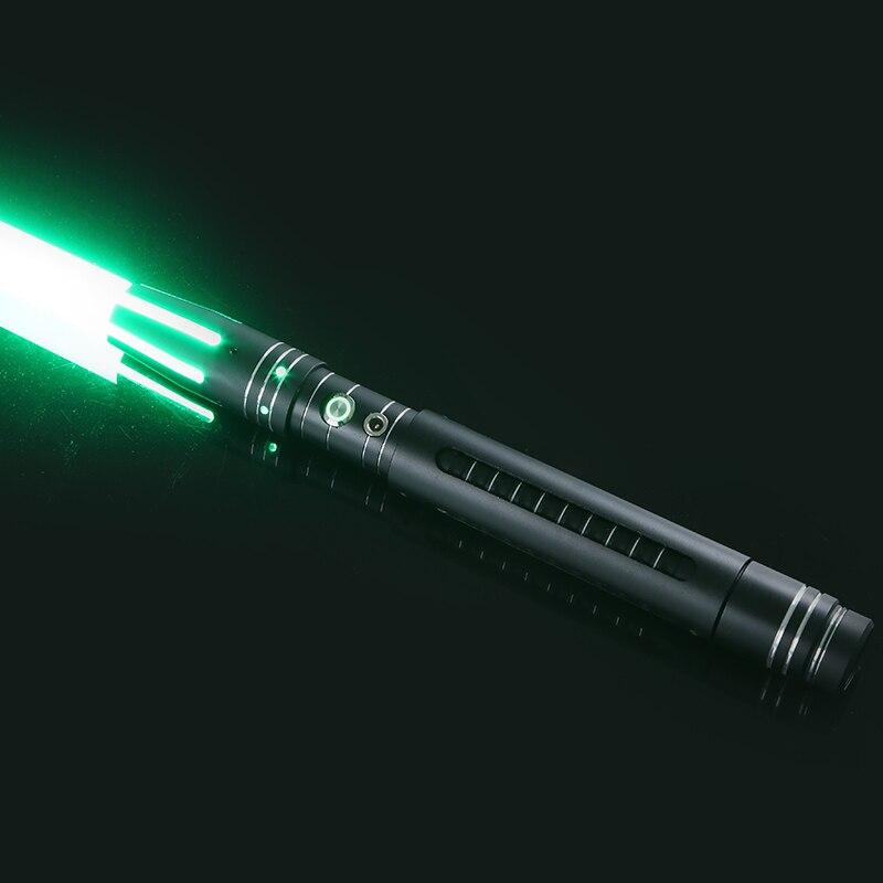 LGTOY 11 couleur sabre Laser épée en métal détachable rvb Laser Cosplay jouet de duel clignotant pour enfants cadeau créatif guerres jouets légers